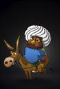 Cartoon: The Owl Nasreddin... (small) by berk-olgun tagged the,owl,nasreddin