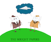 Cartoon: The Wright Papers... (small) by berk-olgun tagged the,wright,papers