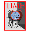 Cartoon: Time Cover... (small) by berk-olgun tagged time,cover