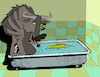 Cartoon: Tub Toy... (small) by berk-olgun tagged tub,toy