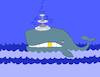 Cartoon: Uncouth Whale... (small) by berk-olgun tagged uncouth,whale