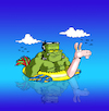 Cartoon: Vacation... (small) by berk-olgun tagged vacation