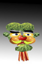 Cartoon: Vegetable man.. (small) by berk-olgun tagged vegetable,man
