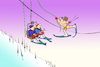 Cartoon: Winter Vacation... (small) by berk-olgun tagged winter,vacation