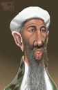 Cartoon: BEN LADEN (small) by Marian Avramescu tagged mav