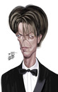Cartoon: D BOWIE (small) by Marian Avramescu tagged mmmmmmmmmm