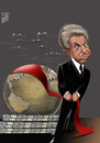 Cartoon: George Soros (small) by Marian Avramescu tagged mmmmmmmmmmm