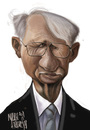 Cartoon: Jurgen Habermas (small) by Marian Avramescu tagged mmmmmm