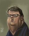 Cartoon: Michael Moore (small) by Marian Avramescu tagged mmmmmmmmmmm