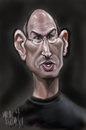 Cartoon: STEVE JOBS (small) by Marian Avramescu tagged mmmmmmmmmmm