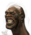 Cartoon: Tyson (small) by Marian Avramescu tagged mmmmmmmmmmm
