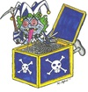Cartoon: Jack In The Box (small) by m-crackaz tagged jack in the box