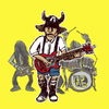 Cartoon: angus and his boys (small) by jenapaul tagged rock,hard,acdc,angus,young
