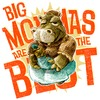 Cartoon: big mommas are the best (small) by jenapaul tagged mommas,mummy,mums,children,hippos