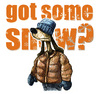 Cartoon: got some snow? (small) by jenapaul tagged snow,dog,humor,winter