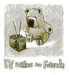 Cartoon: tv makes no friends (small) by jenapaul tagged tv,children,teddybear,bear,media
