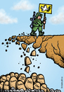 Cartoon: Army peace mission (small) by svitalsky tagged army,cartoon,illustration,mission,peace,fight,cemetery,grave,iraq,somalia,kosovo,libya,ivory,congo,war,conflict,blood,soldier,road,dove,taube,krieg,friedhof,grab,frieden,soldat,armee,militar,svitalsky,svitalskybros