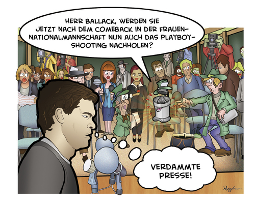 Cartoon: Die Presse 21 (medium) by Die Presse tagged pressekonferenz