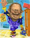 Cartoon: Gabor Kuncze party leader Hung (small) by Tonio tagged caricature,portrait,politics