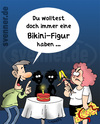 Cartoon: Bikini-Figur (small) by svenner tagged bikini,sommer