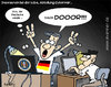 Cartoon: German Hacker (small) by svenner tagged fußball,soccer,em,hacker,german,deutsch