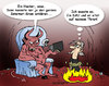 Cartoon: Hacker in the hell (small) by svenner tagged cartoon,comic,hell,hacker,internet