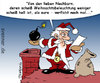 Cartoon: XMAS Fanatismus (small) by svenner tagged xmas,fanatism,santa