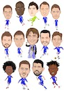 Cartoon: Chelsea champions (small) by Vandersart tagged chelsea