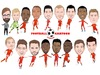 Cartoon: Liverpool Team (small) by Vandersart tagged liverpool,cartoons,caricatures