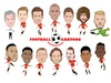 Cartoon: Manchester United Team (small) by Vandersart tagged manchester,united,cartoons,caricatures