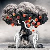 Cartoon: History (small) by zu tagged atomic,bomb,knowdledge,tree