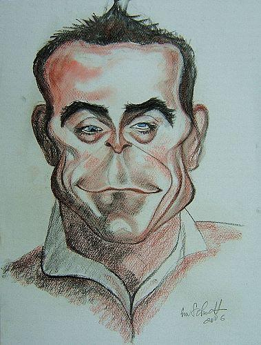 Cartoon: robbie williams (medium) by zichy2008 tagged berühmte,personen