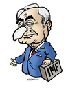 Cartoon: Dominique Strauss-Kahn (small) by jeander tagged dominique,strauss,kahn,imf,sex,managing,director,international,monetary,fund
