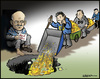 Cartoon: Greece (small) by jeander tagged loan greece money dept