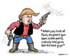 Cartoon: Wild west (small) by jeander tagged terror,daesh,trump,donald