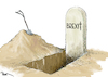 Cartoon: Open Grave (small) by Popa tagged brexit,eu,uk,may,theresamay