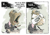 Cartoon: Our democracy (small) by Popa tagged od01