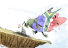 Cartoon: Stumbling Block in South Africa (small) by Popa tagged africa,south,zuma,corruption,jacob