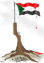 Cartoon: Sudan Crisis (small) by Popa tagged violence,military,au,un,albashir,conflict,khartoum