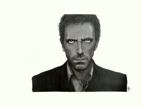 Cartoon: dr.house (medium) by cocori tagged house,hugh,laurie