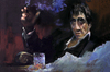 Cartoon: Al Pacino Scarface (small) by yllifinearts tagged al,pacino,scarface,cartoon