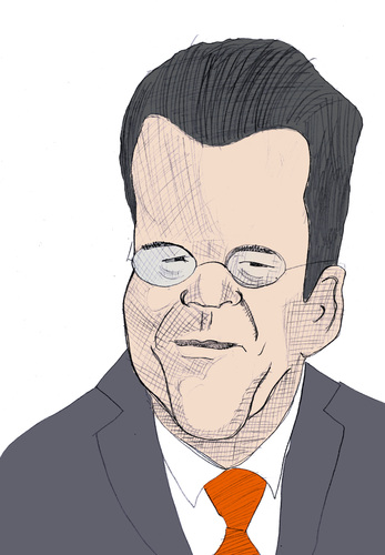 Cartoon: Guttenberg (medium) by Liam tagged promi,politiker