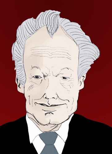 Cartoon: Willy Brandt (medium) by Liam tagged spd,politiker,brandt,willy,polen,kanzler,deutschland
