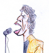 Cartoon: Mick Jagger (small) by Liam tagged mick,jagger,rock,musik,rolling,stones,keith,richards,music,singing,star,idol,bühne,mikro