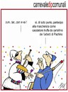 Cartoon: carnevale dip comunali (small) by Enzo Maneglia Man tagged cassonettari,man,maneglia,fighillearte