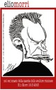 Cartoon: Elio Morri scultore riminese (small) by Enzo Maneglia Man tagged elio,morri,scultore,riminese