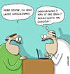 Cartoon: GOOGLEZWANG (small) by comicpiero tagged google,zwang,doktor,hilfe,arzt,googeln