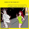 Cartoon: 2017 Word (small) by cartoonharry tagged app,accident,word2017