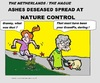 Cartoon: Ashes Makes Nettles (small) by cartoonharry tagged nettles,brandnetel,granny,grannie,granddaughter,nature,spread,cartoon,comic,comics,artist,cool,man,woman,old,drawing,girl,toonpool,toonsup,facebook,hyves,linkedin,buurtlink,deviantart