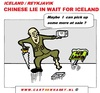 Cartoon: Chinese Want Iceland (small) by cartoonharry tagged iceland,piece,reykjavik,cartoon,cartoonharry,cartoonist,dutch,china,toonpool